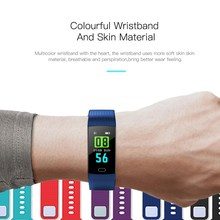 2018 Women Fitness Intelligent Bracelet Watch Smart Wristband Heart Rate Monitor Blood Pressure Smart Bracelet Color Screen Band