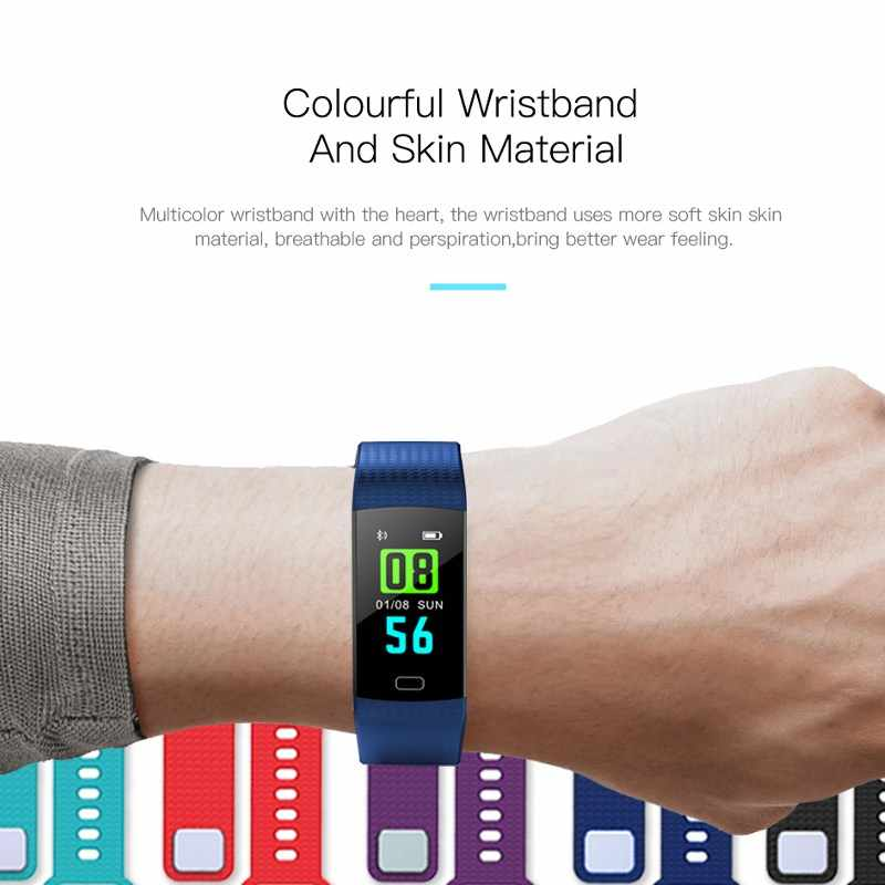 0e656673617 ... 2019 Smart Watch Women Men Sport Fitness Intelligent Wristband Heart  Rate Blood Pressure Color Screen Reloj ...