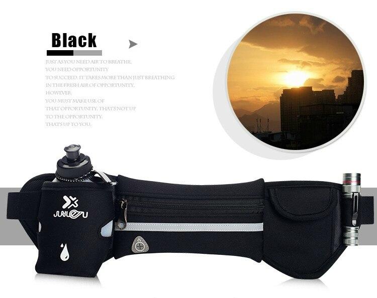 Outdoor Women&Men Hydration Belt For Trail Running Hip Waist Pack Gym Fitness Jogging Waist Bag Water Bottle Sport Accessories 19