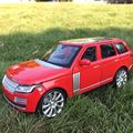 1:24 RANGE ROVER Alloy Diecast Car Model Pull Back Toy Car model Electronic Car with Pull Back Kids Toys Gift Free Shipping