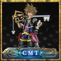 CMT INSTOCK BANDAI TAMASHII NATIONS Original S H Figuarts Kingdom Hearts II SHF Sora PVC Action