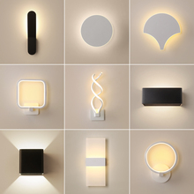Modern Wall Light Led Indoor Wall Lamps Led Wall Sconce Lamp Lights for Bedroom Living Room Stair Mirror Light Lampara De Pared ipe cavalli brunilde modern stainless wall lamp for bedroom wall sconce lamp with shade retro wall lamps wall light lamp shades