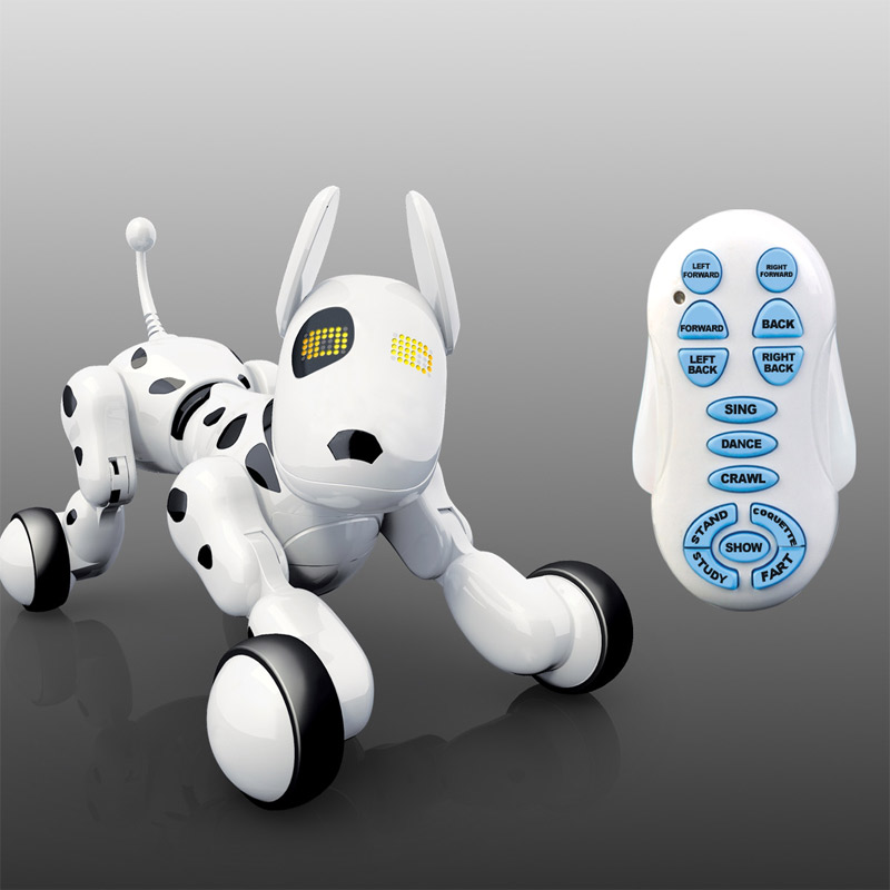 Smart Remote Control Dog Singing and Dancing Robot Dog Electronic Intelligent Pet Education Toy for Kids