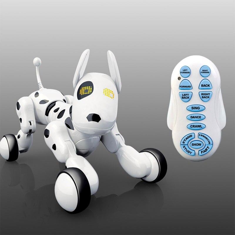 Intelligent télécommande chien chant et danse Robot chien électronique Intelligent Pet éducation jouet pour enfants cadeau d'anniversaire cadeau
