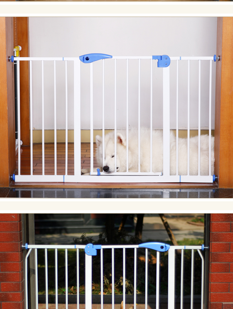 75-85cm Baby safe stair safey gate Child gate baby guardrail pet dog grid railing fence isolating
