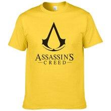 2017 Summer Hot Cool Game Assasins Creed Unity Printed Tops Tees 100%Cotton Men T-shirt Cosplay T Shirt Casual O-Neck Cloth #148