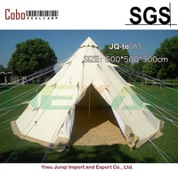 Large Indian Style Pyramid Camping Tent 6 Person Family Tepee Outdoor Shelter Hiking Equipment Gear