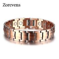 LETAPI Copper Magnetic Bracelets for Women Size Adjustable Bronze Color Arthritis Healing Pulsera Female Jewelry