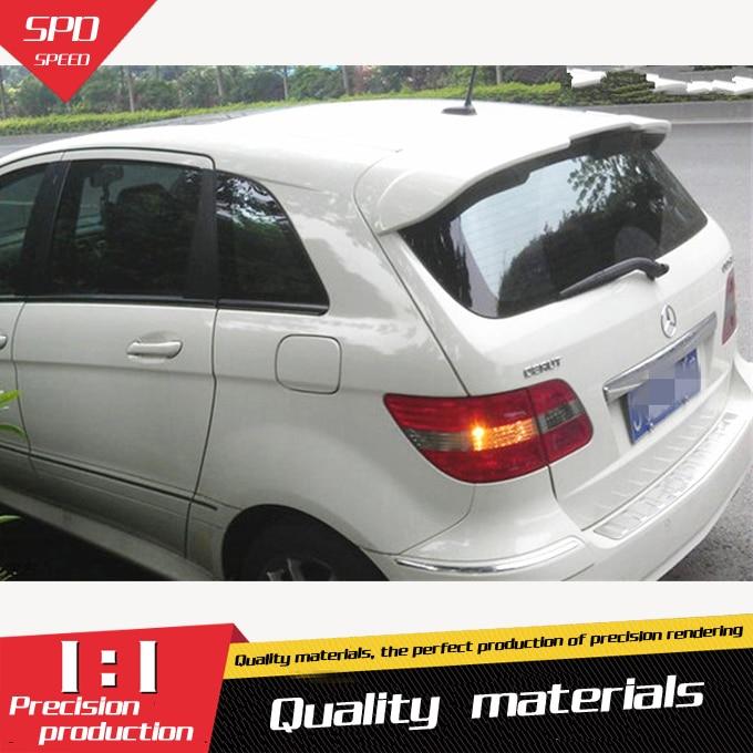 For Benz B200 Spoiler ABS Car Rear Wing Spoiler For Benz B200 Spoiler 2009 2014