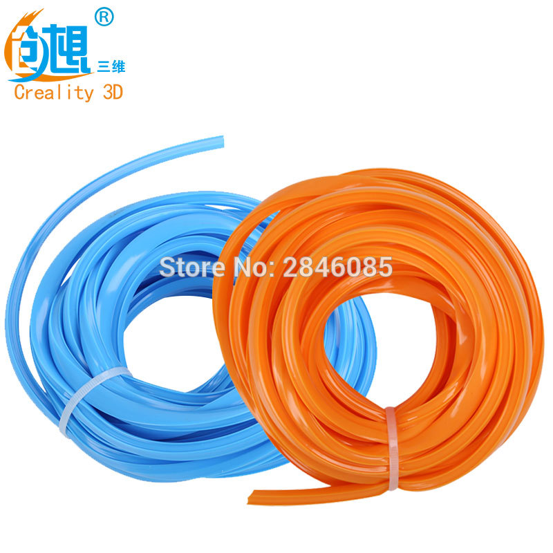 2Meter/Lot CREALITY 3D Printer Parts CR-10 Two Color Strip Orange/Blue for Creality 3D CR-10 300mm/400mm/500mm 3D Printer