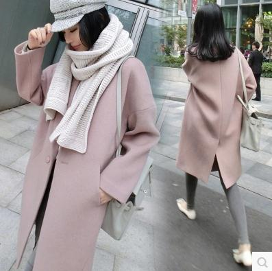 Popular Pink Wool Coats-Buy Cheap Pink Wool Coats lots from China ...