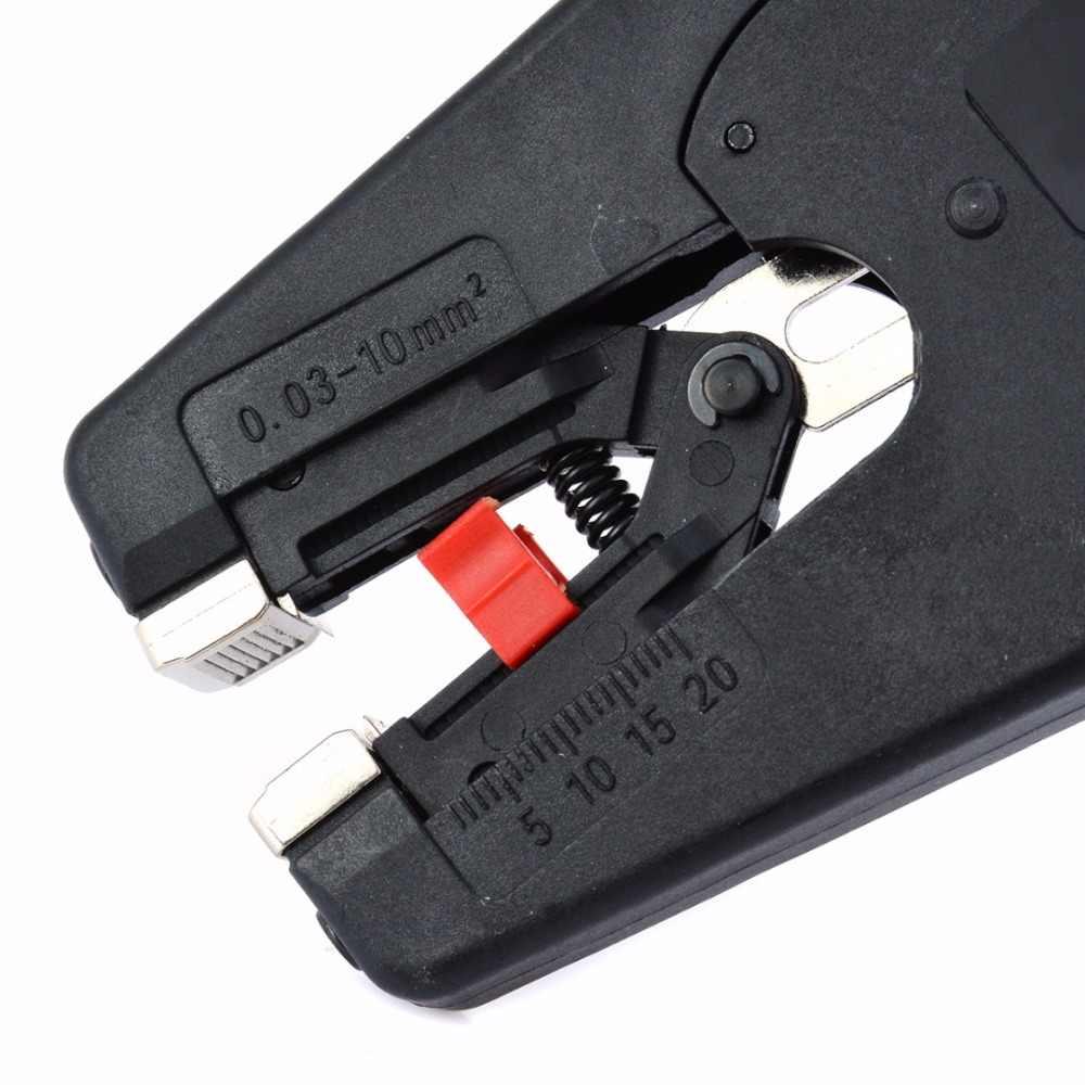Senmubery Alicates de pelacables el/éctricos ajustables de 0,03 a 10 mm de precisi/ón para electricistas