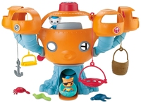 Free shipping by trackable shipping 1 set Octonauts Oktopod Splelset without box figure toy Chinese Edition child Toys