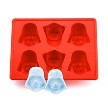 Креативные Звездные войны ледяной куб пищевой силиконовые формы для шоколада