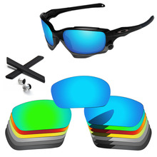 PapaViva Polarized Replacement Lenses and Black Earsocks & Bolt for Authentic Racing Jacket Sunglasses Frame - Multiple Options papaviva replacement lenses for straight jacket 2007 sunglasses polarized multiple options