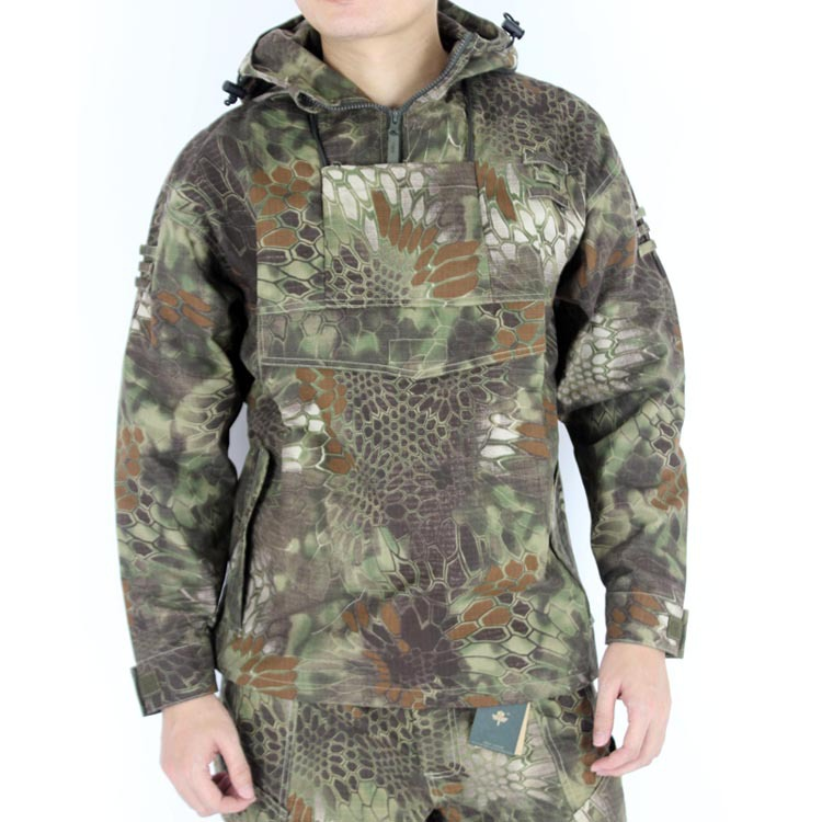 ФОТО Python Men's Tactical Hunting Hoodie Jacket For Airsoft Paintball Camping Hiking Outdoor Outerwear