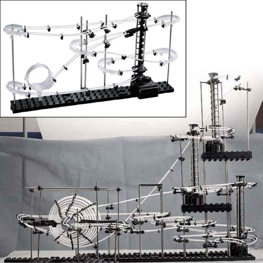 Space Rail Level 2 Roller Coaster Spacewarp Rollercoaster Kid Child Building Toy
