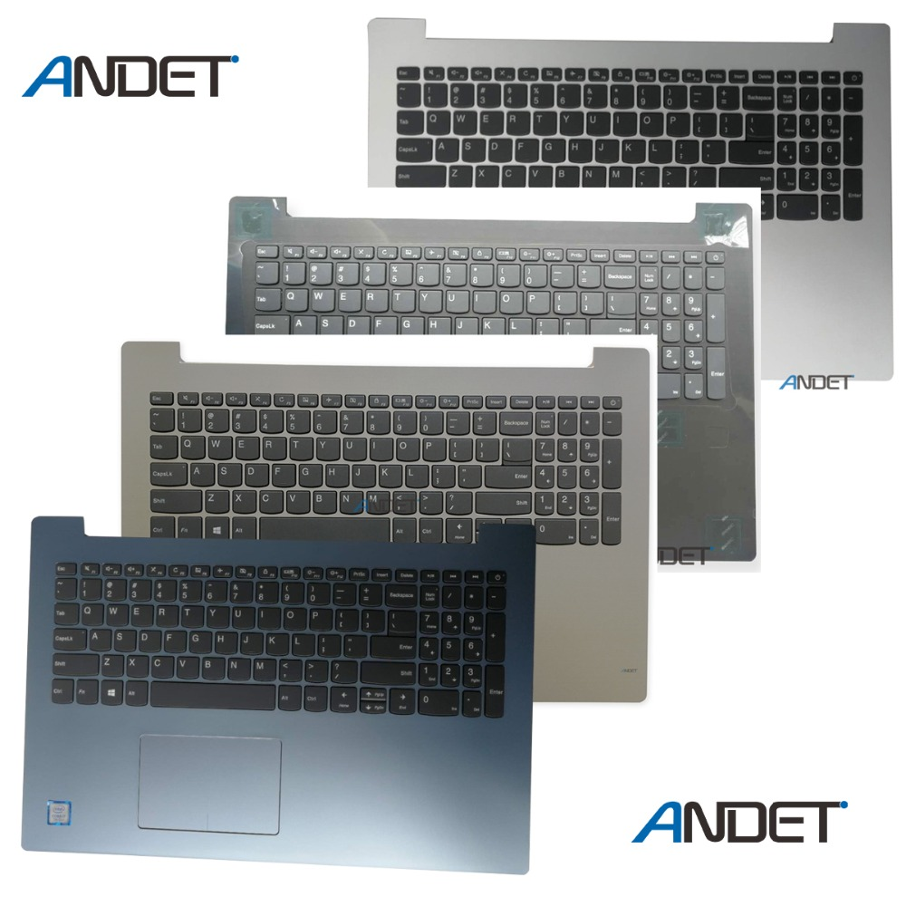 New Original for Lenovo 320-15 320-15IKB 320-15IAP 320-15ISK 520-15 5000 Laptop Keyboard Bezel Upper Case Base Cover Palmrest gzeele english laptop keyboard for lenovo ideapad 320 15 320 15abr 320 15ast 320 15iap 320 15ikb 320s 15isk 320s 15ikb black