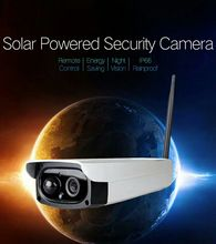 YobangSecurity 1080P 2.0M Waterproof Outdoor WIFI Wireless Solar Power Surveillance Security CCTV Camera Video Recorder TF Card smartyiba waterproof solar power pir motion detecting outdoor security camera surveillance cctv camera video recorder tf card