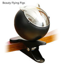 Ashtray Personalized Metal for with Chrome-Plated-Lid Fashion Belt-Clip Ktv Large