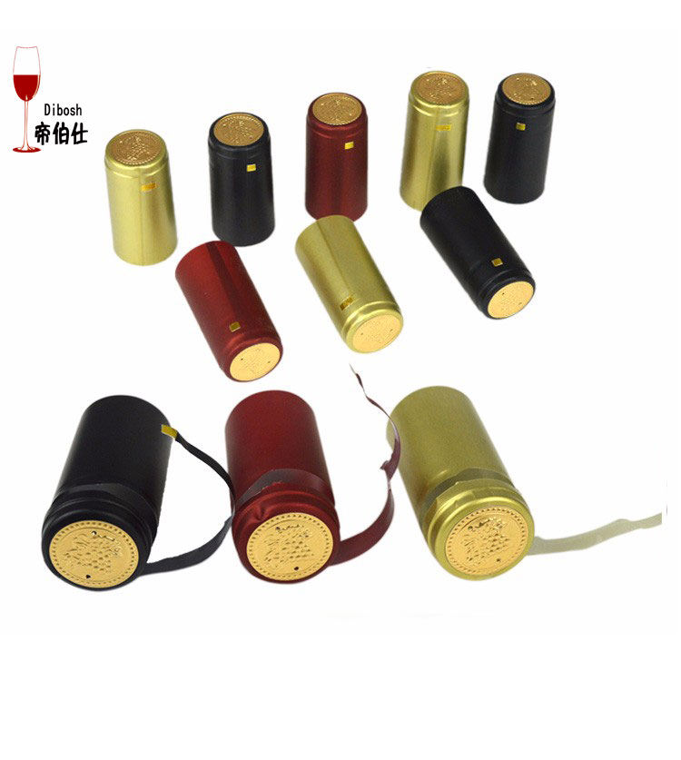 200pcs pvc heat shrink cap home brewing wine seal cover for Wine bottle material