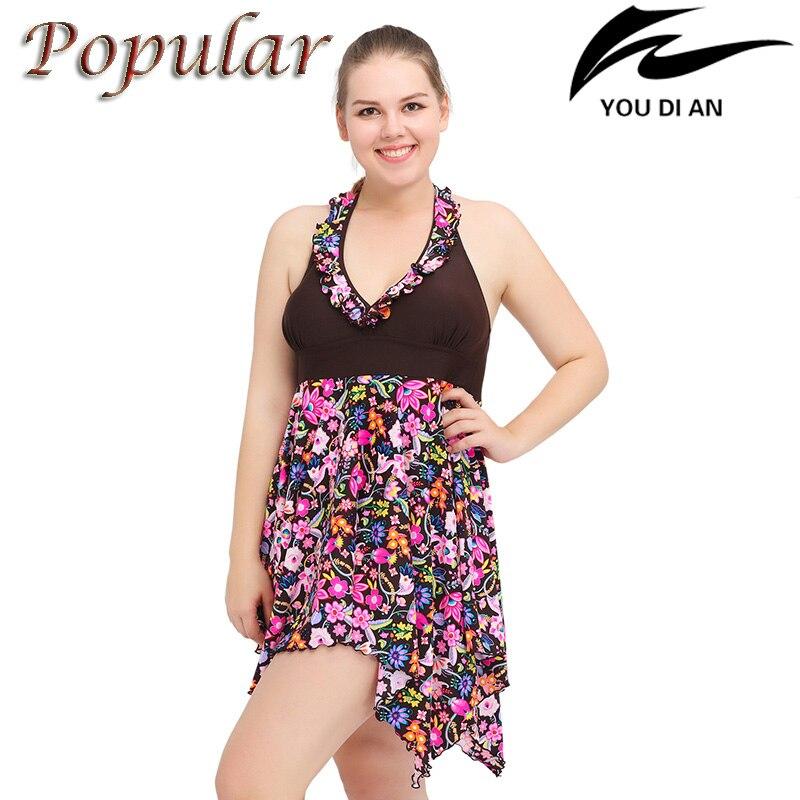 New Sexy women 2XL to 6XL large size plus size swimwear two pieces swimsuit women beach bathting swim suit все цены