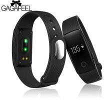 Monitor de Freqüência Cardíaca Relógios Dos Homens Das Mulheres de Sono Do Bluetooth Rastreador Inteligente para IOS Android da Mulher do Homem de Fitness Rastreador Pulseira