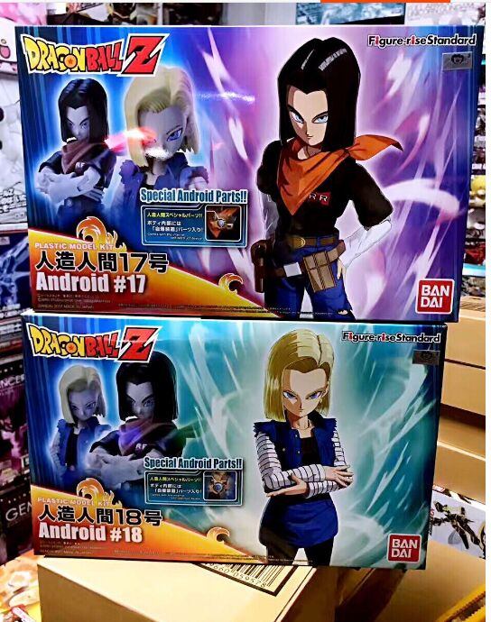 Standard android 18 lazuli android 17 Lapis figure Dragon Ball Z assembly model kit