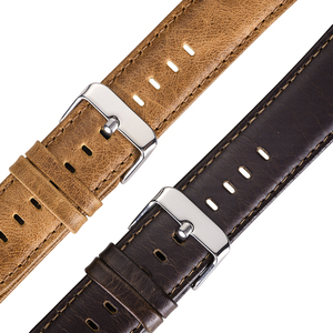 Image 5 - Original HOCO Brown Cowhide Watch Band for Samsung Galaxy Watch 42mm/46mm Genuine Leather Strap Retro Replacement Wristband