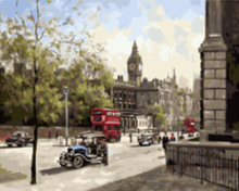 "DIY Painting By Number – London (16""x20"" / 40x50cm)"