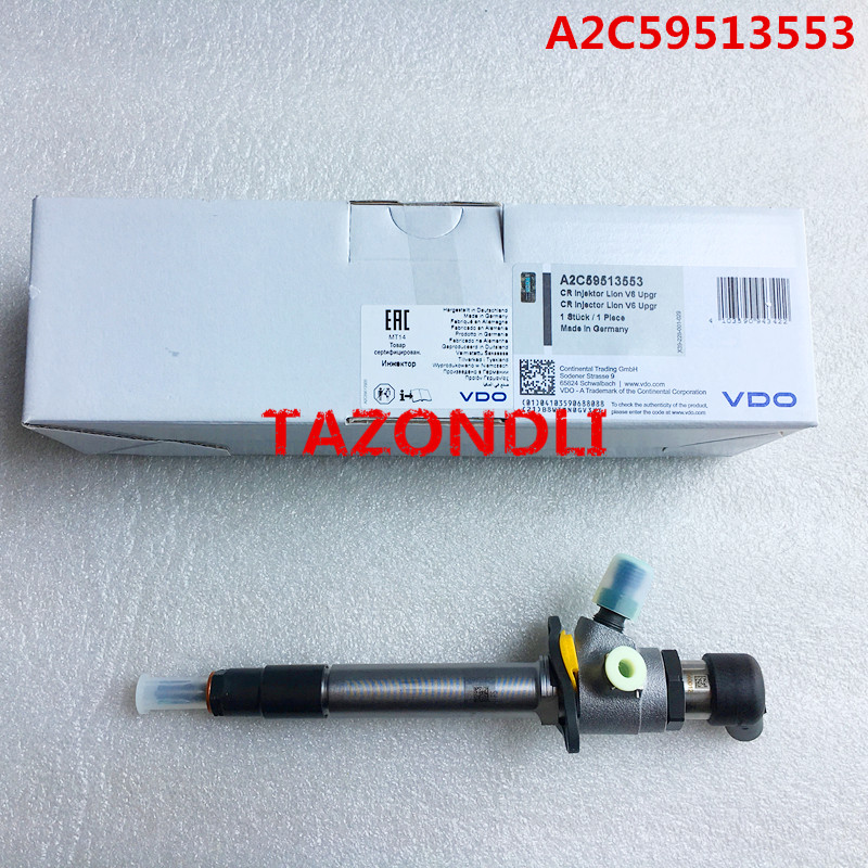 Genuine and new fuel injector 5WS40252 A2C59513553 for F ord 7H2Q 9K546 CB 1489401 L and