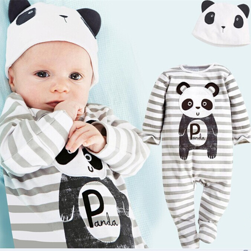Newborn Baby Rompers Cute Animal Bodysuit Brand Boy Clothing Unisex Baby Costume Infant Long Sleeve Jumpsuits Baby Girls Clothes unisex baby boys girls clothes long sleeve polka dot print winter baby rompers newborn baby clothing jumpsuits rompers 0 24m