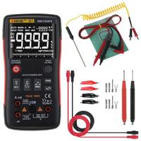 True RMS Digital Multimeter Button 9999 Counts With Analog Bar Graph AC/DC Voltage Ammeter Current Ohm 2019 Hot sale