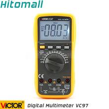Профессиональный Правда RMS Авто Диапазон 4000 Отсчетов Сопротивление Емкость Частота Температура Виктор Цифровой Мультиметр VC97