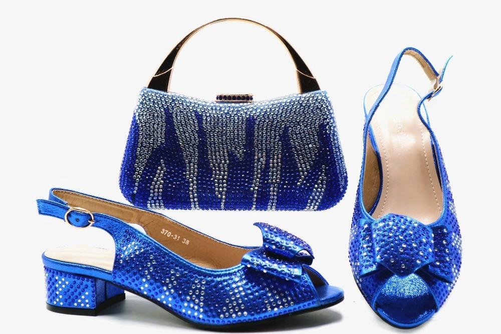 Italien Ensemble Et Conception Pierres Ebi Sac Italie Royal Assorti Bleu Africain Sb8280 5 Partie Pour Chaussures Aso nY77Tx