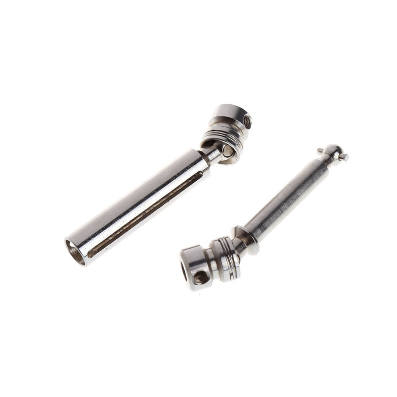 2pcs/set For Wltoys 12428 12423 1/12 RC Car Spare Parts Rear Drive Shaft Accessories wltoys 12428 12423 1 12 rc car spare parts 12428 0091 12428 0133 front rear diff gear differential gear complete