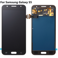 For Samsung Galaxy S5 G900F G900I G900M G900A G900D TFT LCD Display Touch Screen Digitizer for Samsung s5 lcds Home Button