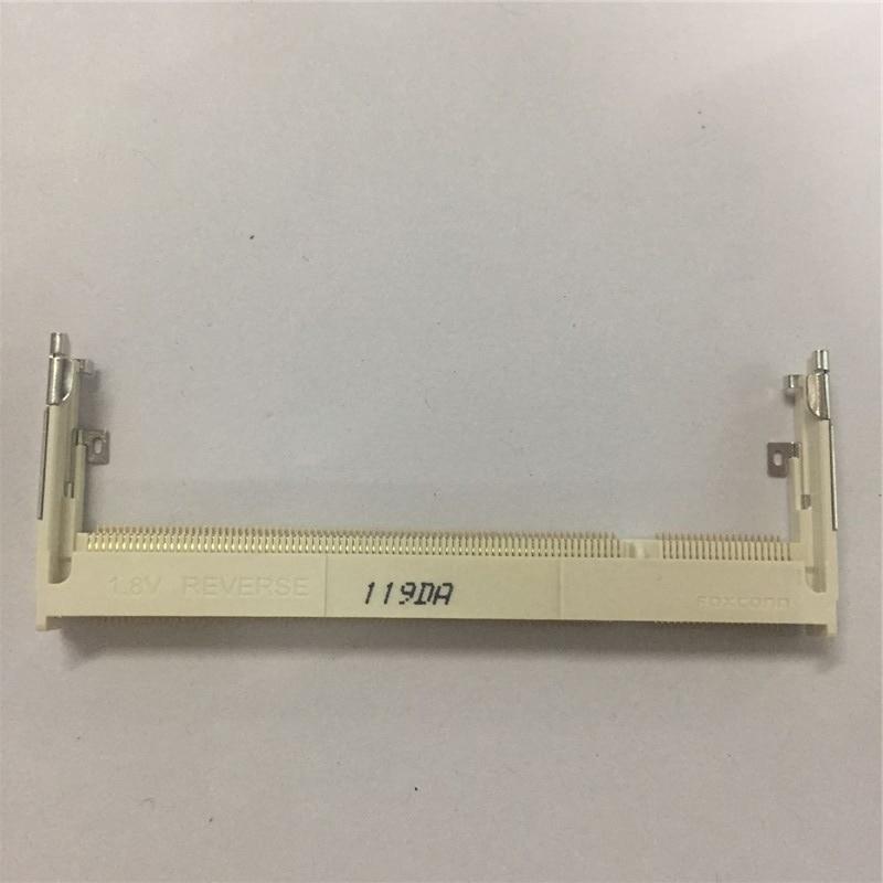 1PCS Notebook Memory Slot Socket 1.8V REVERSE 200P 5.2MM 5.2H 119DR