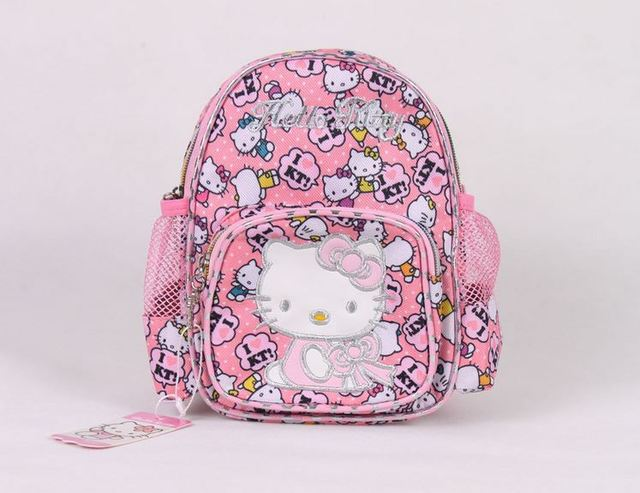 9a67f7611069 Hello Kitty girls school bags children backpacks printing kids backpack  girls backpack