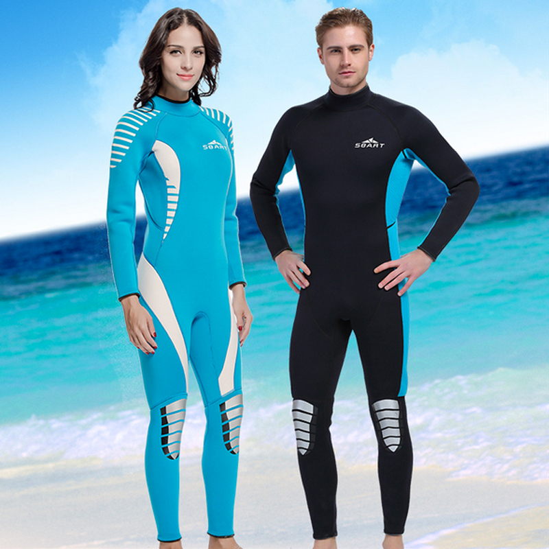 H747 sbart neoprene wetsuit 3mm surfing wetsuits women for Women s ice fishing suit