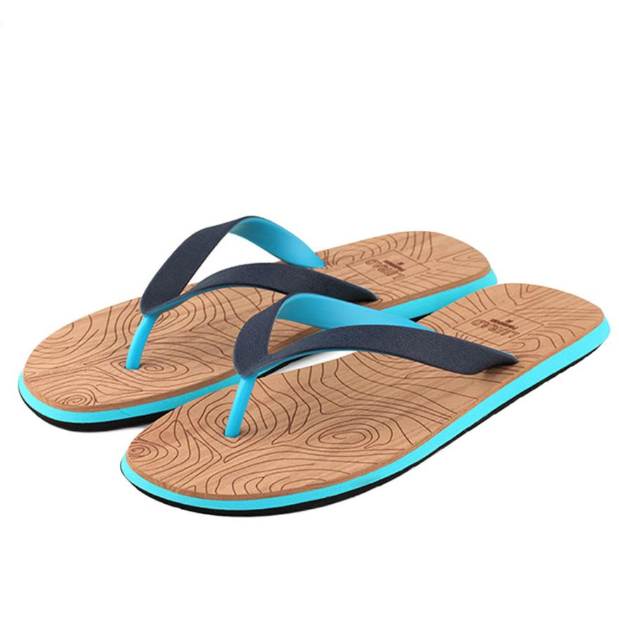 Naivety Men Slippers Summer Beach Flip Flops Cool Mixed Color Male Flip flops Shoes 28S7503 drop