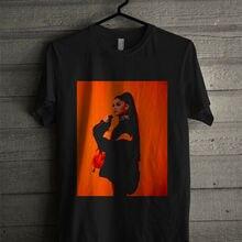 Новая Ариана Гранде Опасная женская Европейская тур футболка Топ Круглый вырез Солнечный свет Мужская футболка Топ тройник Мужская футболка с коротким рукавом