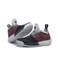 Mahadeng Basketball Shoes boost Harden Vol.2 AQ0048 basket ball Sports sneakers Size 39 46