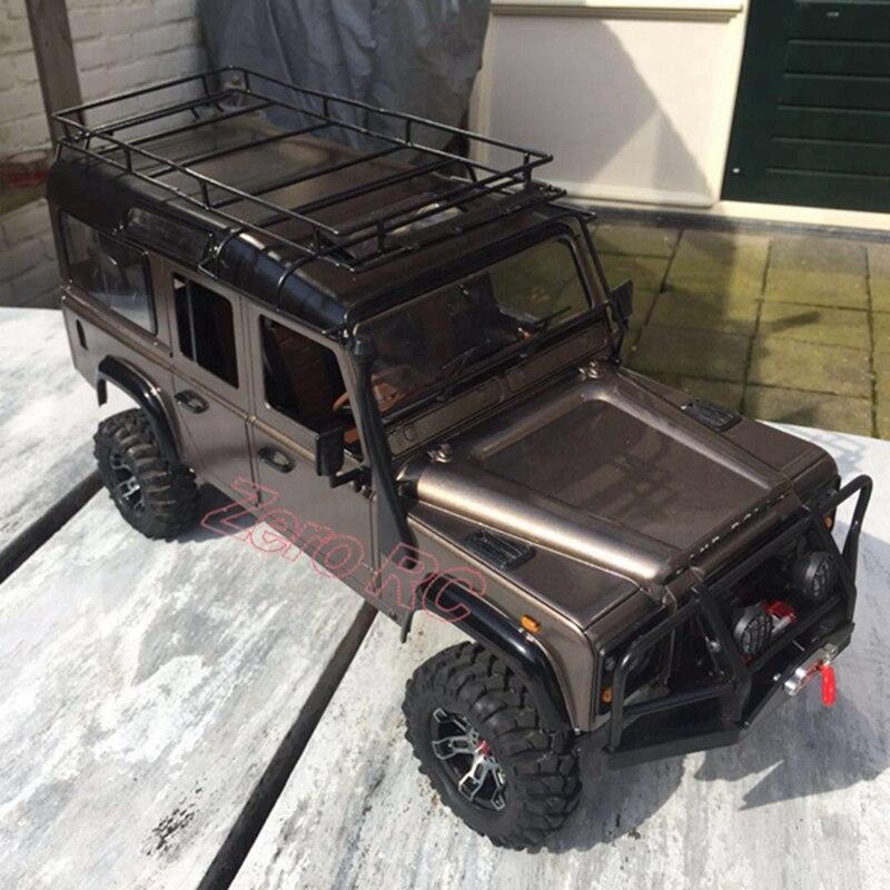 Oyuncaklar ve Hobi Ürünleri'ten Parçalar ve Aksesuarlar'de 1/10 TAM METAL rc kaya paleti ARABA Defender D110 Şasi RC4WD'da  Grup 1