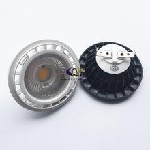 Бесплатная доставка 12V G53 GU10 затемнения светодиодный AR111 встроенный Точечный светильник 10 Вт 15 Вт GU10 светодиодный AR111 светильник ES111 Светодио...