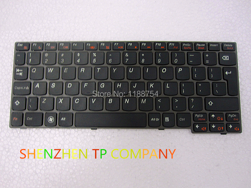 Genuine NEW for Lenovo IdeaPad S206 Black UK Keyboard