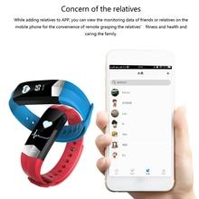 Фустер GM3 умный Браслет Фитнес трекер Bluetooth сердечного ритма Мониторы Smart Band виброзвонок для вызова и сообщение PK ID115