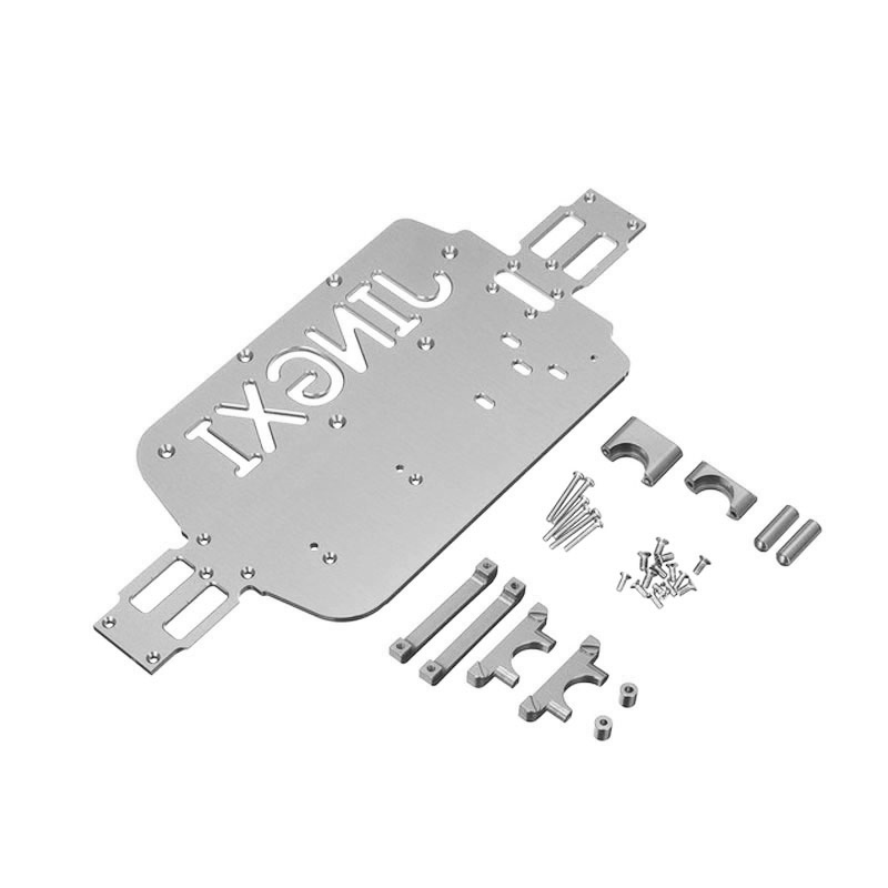 Titanium Upgrade Metal Chassis Parts For WLtoys A959 A979 A959B A979B RC Car Replacement