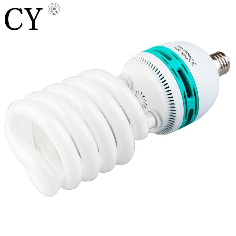 110V Photo Daylight Fluorescent Bulb Lamp 85W 5500K studio continuous lighting studio light bulb photography accessory PSLB3A