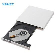 Portable USB 2.0 DVD Drive Combo CD RW Burner Writer External Optical Drives DVD ROM Player for Laptop Computer pc, Windows7/8